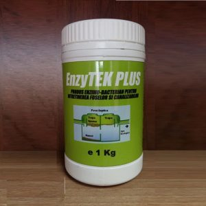 Produs enzimo-bacterian